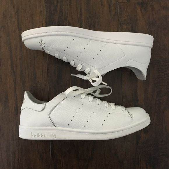 online retailer 3c4bb c7df8 Adidas Stan Smith Leather Sock shoes
